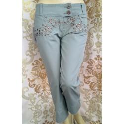 HFN jeans дамски панталон с капси Нов с етикет