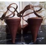 OFFICE дамски сандали 100% естествена кожа Нови
