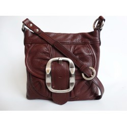 B. MAKOWSKY дамска чанта за през рамо 100% естествена кожа