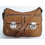 FOSSIL дамска чанта 100% естествена кожа Оригинал