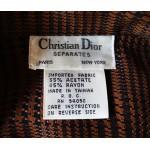 Christian Dior vintage дамски блейзър Оригинал