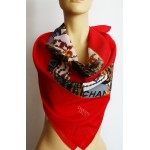 CHANEL Paris vintage голям дамски шал 100% коприна
