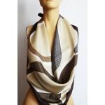 GUESS голям дамски шал 100% коприна