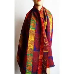 KENZO голям дамски шал 100% вълна