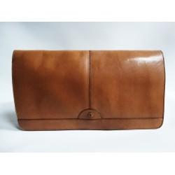 BALLY vintage дамска чанта/клъч 100% естествена кожа