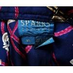 SPARRS concepts дамска плисирана пола 100% чиста  коприна
