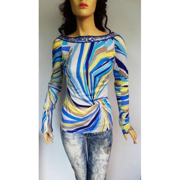 EMILIO PUCCI дамска блуза коприна Оригинал