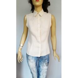 Max Mara дамска риза 100% лен и коприна