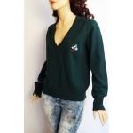 BALENCIAGA.PARIS дамска блуза/пуловер 100% вълна