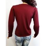 HUGO BOSS дамска блуза 100% вълна