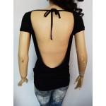 LOVE MOSCHINO дамска блуза с гол гръб Оригинал