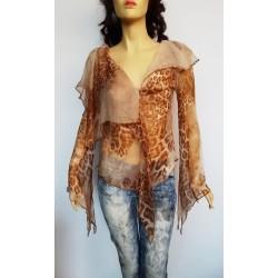 JUST CAVALLI дамска блуза 100% коприна