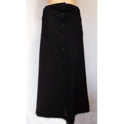 ARMANI JEANS дълга дамска пола вълна и памук