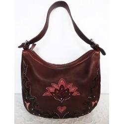 BAYA LUNA дамска чанта 100% естествена кожа