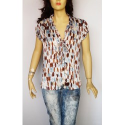 2-biz дамска блуза сатен Нова с етикет