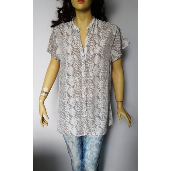 Flame дамска блуза змийски принт