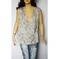 Calvin Klein дамска блуза 100% коприна