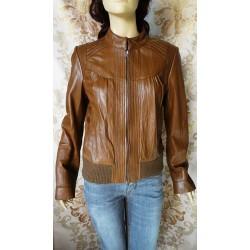 SHARE дамско яке 100% естествена кожа