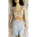 MILLENIUM дамска блуза коприна и памук Нова