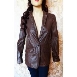 ESPRIT дамско яке 100% естествена кожа