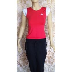 adidas оригинална дамска тениска-корал