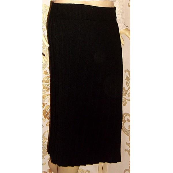 Дамска плисирана пола плетиво