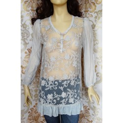 Pierro дамска копринена блуза-туника