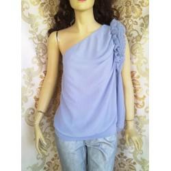 FORNARINA дамска блуза с едно рамо Нова с етикет
